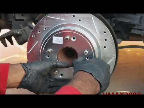 Honda Accord 2012 Rear Brake Upgrade!