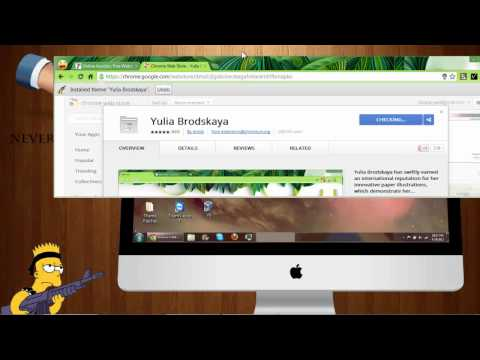 How to Install and Uninstall themes in Google Chrome HD