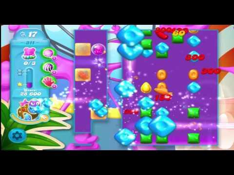 Candy Crush Soda Saga Level 311 With No Boosters ( A Fun Level)