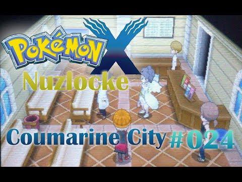 Pokemon X Nuzlocke #24 - Coumarine City!!!