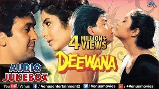 Deewana - 90's Romantic Songs | Shahrukh Khan, Rishi Kapoor, Divya Bharti | JUKEBOX | Hindi Songs