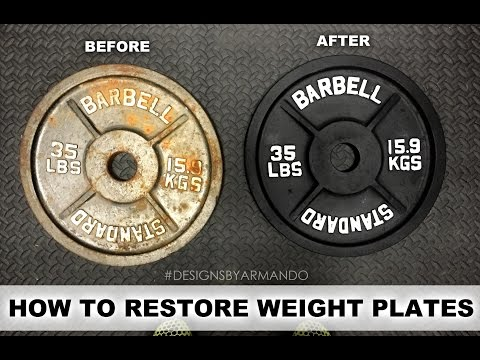 RESTORING WEIGHT PLATES