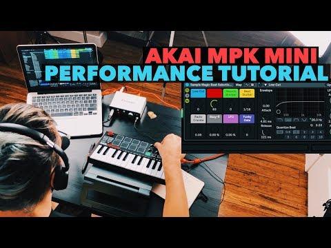 Xxx Mp4 AKAI MPK Mini Ableton Live Performance Tutorial 3gp Sex