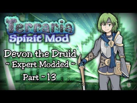 Terraria SPIRIT MOD Let's Play Part 13   DUSKING BOSS & SPIRIT BIOME!   1.3.5 PC