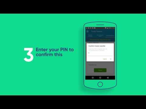 Ecobank Mobile App Tutorial: Transfer Money Between Accounts