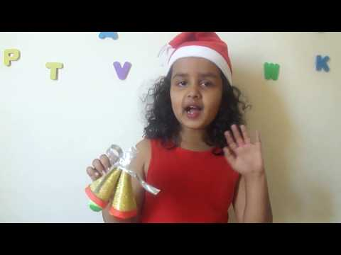 Christmas Special 7: Christmas Bell |  How to make christmas bell |   Christmas bell made by child