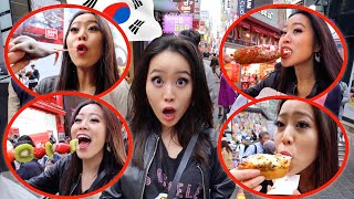 Download KOREAN STREET FOOD IN SEOUL!! Video