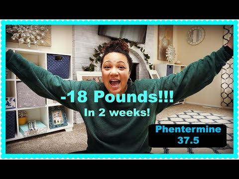 Lost 18 pounds in 2 weeks! Weight Loss Update | Phentermine