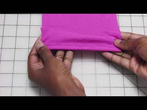 Sew Knits Without a Serger: The Zigzag Topstitch