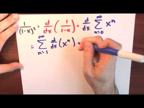 What happens if I transform 1/(1-x)? - Week 5 - Lecture 12 - Sequences and Series