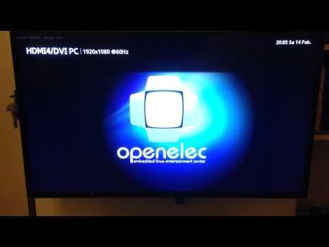 Booting OpenELEC on the Intel NUC