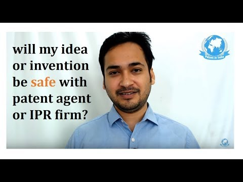 will my idea or invention be safe with Patent agent or attorney ? video by Prasad Karhad