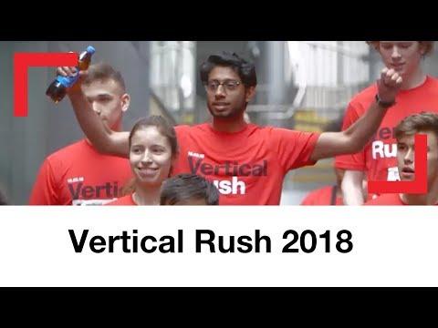 Vertical Rush 2018   Tower running challenge   Shelter