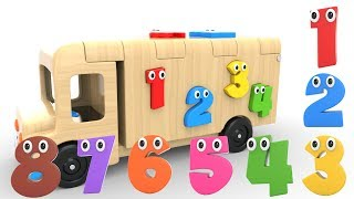 Download Learn Numbers with Wooden Truck Toy - Numbers Videos Collection for Children