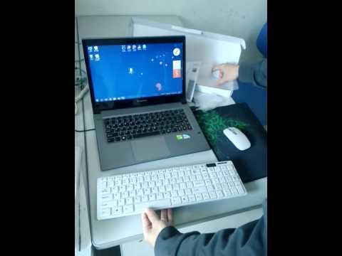 2.4G wireless keyboard & mouse for windows imac macbook win XP/7/8