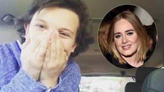 Millie Bobby Brown Sings Like Adele & Confuses Starbucks Workers