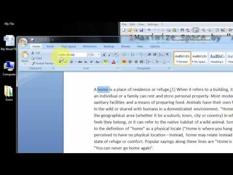 Maximize Space by Auto-Hiding the Ribbon in Office 2007 Step By Step Tutorial