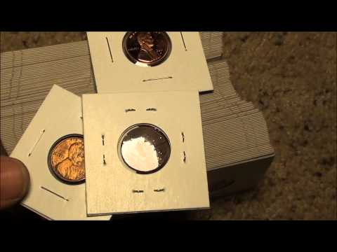 How To protect your coins, Mylar and cardboard coin holders for coin collecting and selling coins
