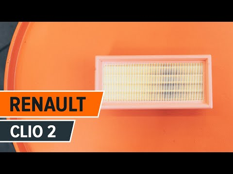 How to replace Air Filter on RENAULT  CLIO 2 TUTORIAL | AUTODOC