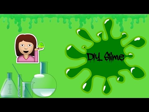 DIY SLIME  Maya's Diy Channel