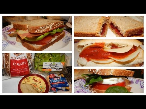 5 Quick & Easy Vegetarian Sandwiches