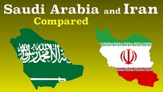 Arab Saudi dan Iran Dibandingkan