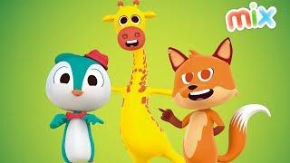 Canciones del Zoo Mix Enganchado en HD   El Reino Infantil