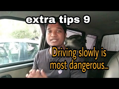 What do expert drivers know that most drivers don't? Extra tips 9