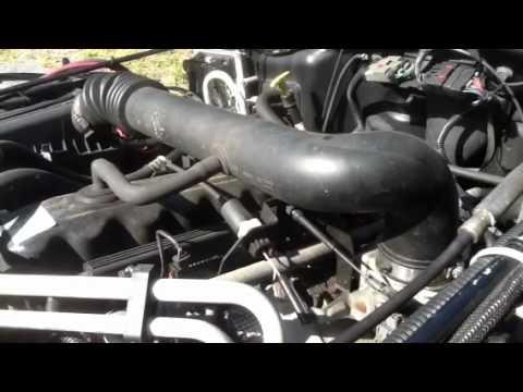 Loud whistling noise 2000 jeep wrangler 4.0l