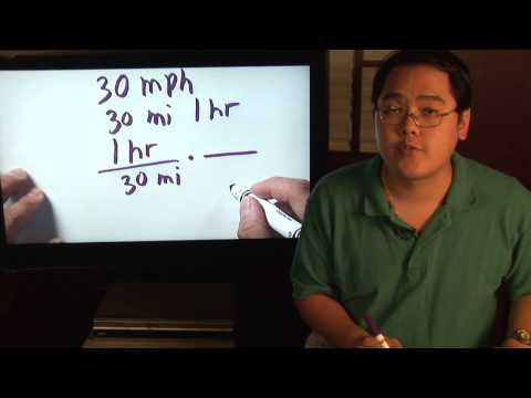 Math Lessons : How to Calculate Minutes Per Mile