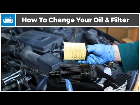 How to Change The Oil and Oil Filter on Your Car From MicksGarage.com