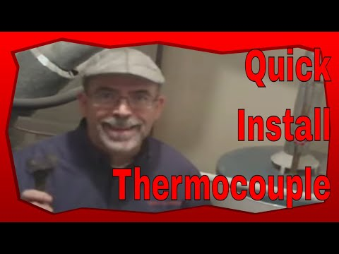 No Pilot Light No Hot Water: How to Replace a Thermocouple