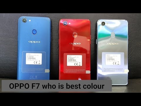 Oppo F7 | which is best colour in oppo F7