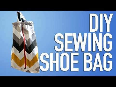 DIY SEWING SHOE BAG | TAS SEPATU