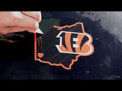 How to Remove Stuck-On Stickers from Car Windows