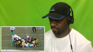 Dolphins vs. Steelers   NFL Wild Card Game Highlights Reacton