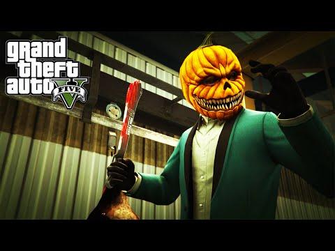 GTA 5 Online Halloween DLC Slasher with Friends