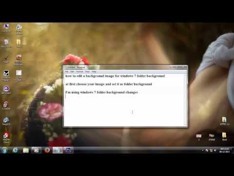 Edit a background image for windows 7 folder background