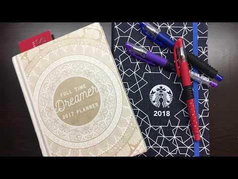 [Random Unboxing] Starbucks by Moleskine Singapore 2018 Planner