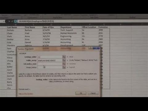 How To Create A Vlookup Function
