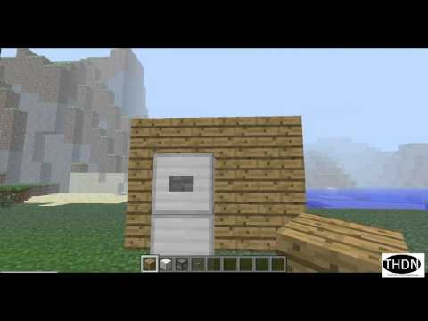 How to make a WORKING refrigerator in Minecraft!!!