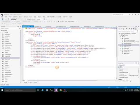 How to create Login Page using ASP.NET, C# and Sql Server
