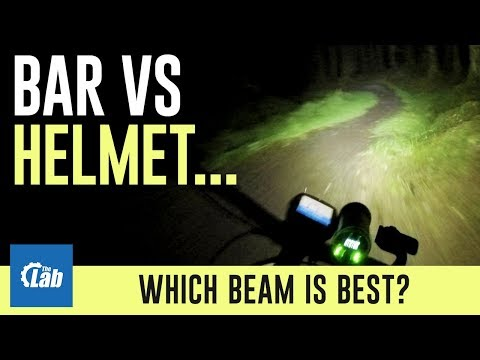 Bar vs helmet... which beam is best?