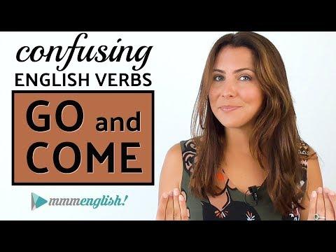 Confusing English Verbs | GO & COME