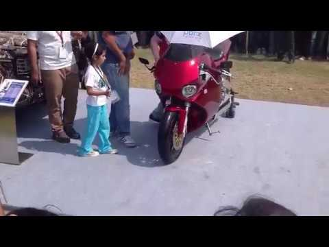 Helicopter engine in Bike - India's first Y2K bike sound