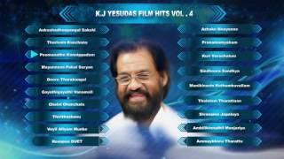 K J Yesudas Malayalam Hits | Malayalam Songs | Full Audio Jukebox Vol-4