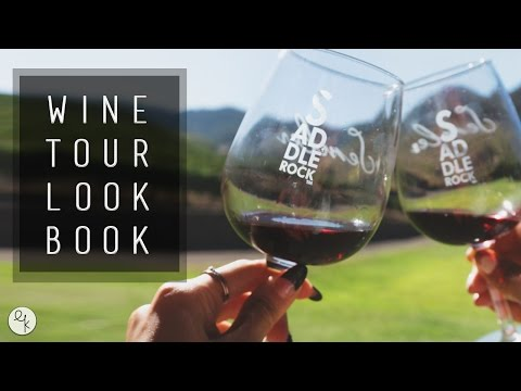 Style Lookbook |  Wine Tours: Malibu Wine Safaris + Sterling Vineyards