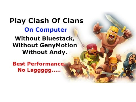 Play Clash Of Clans on PC. Best Performance. No Lagging