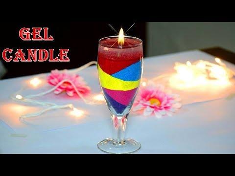 DIY Easy Quick and Best Diwali special Gel Diya Candle Making | Diwali / Christmas Decoration ideas