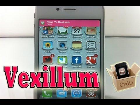 Vexillum (Cydia Tweak) - How To Change Notification Banner Color